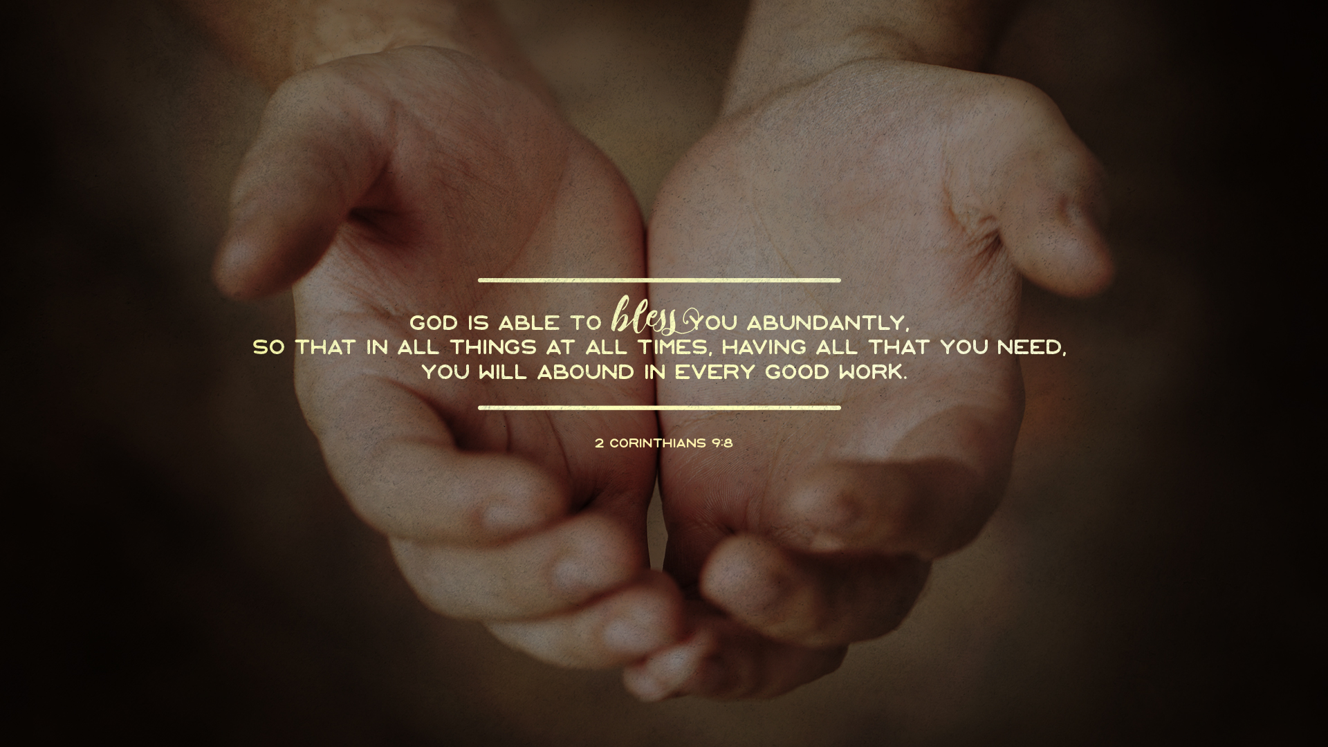2 Corinthians 2:8-9 DESKTOP