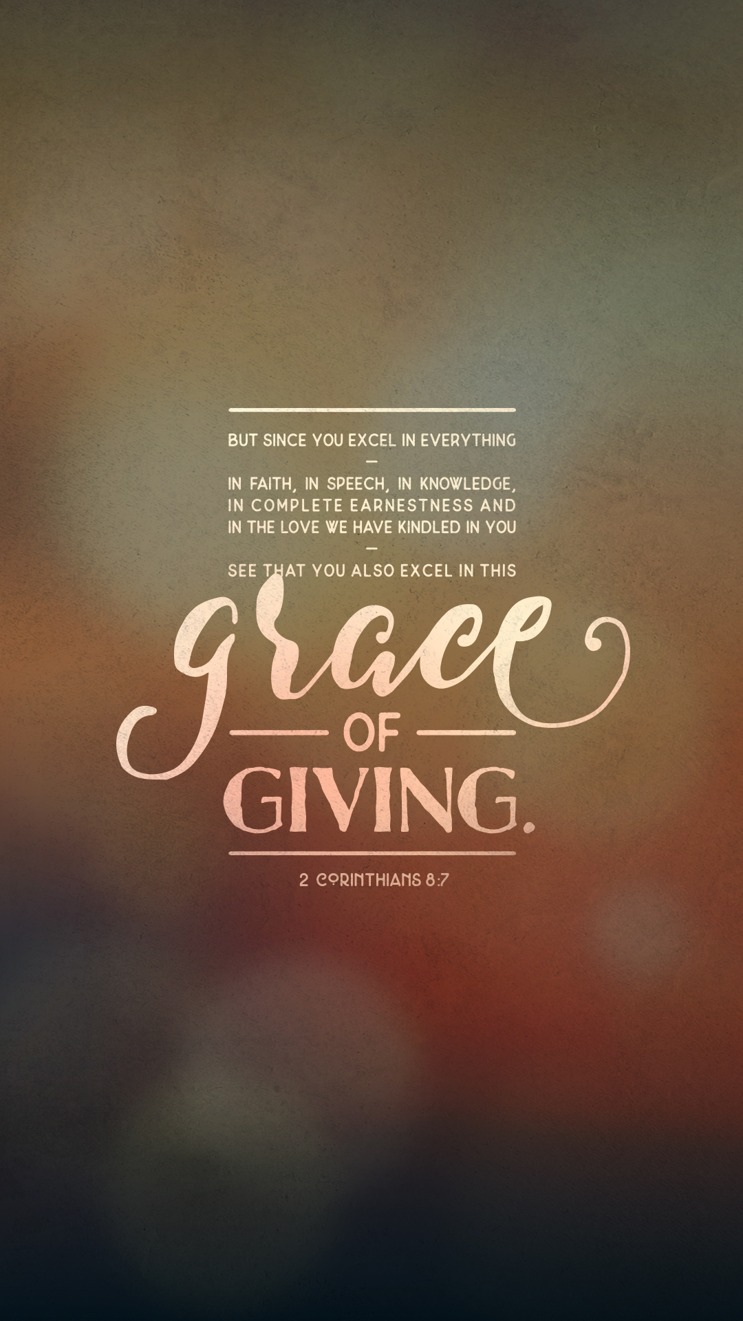 The Grace Of Giving Capital Church