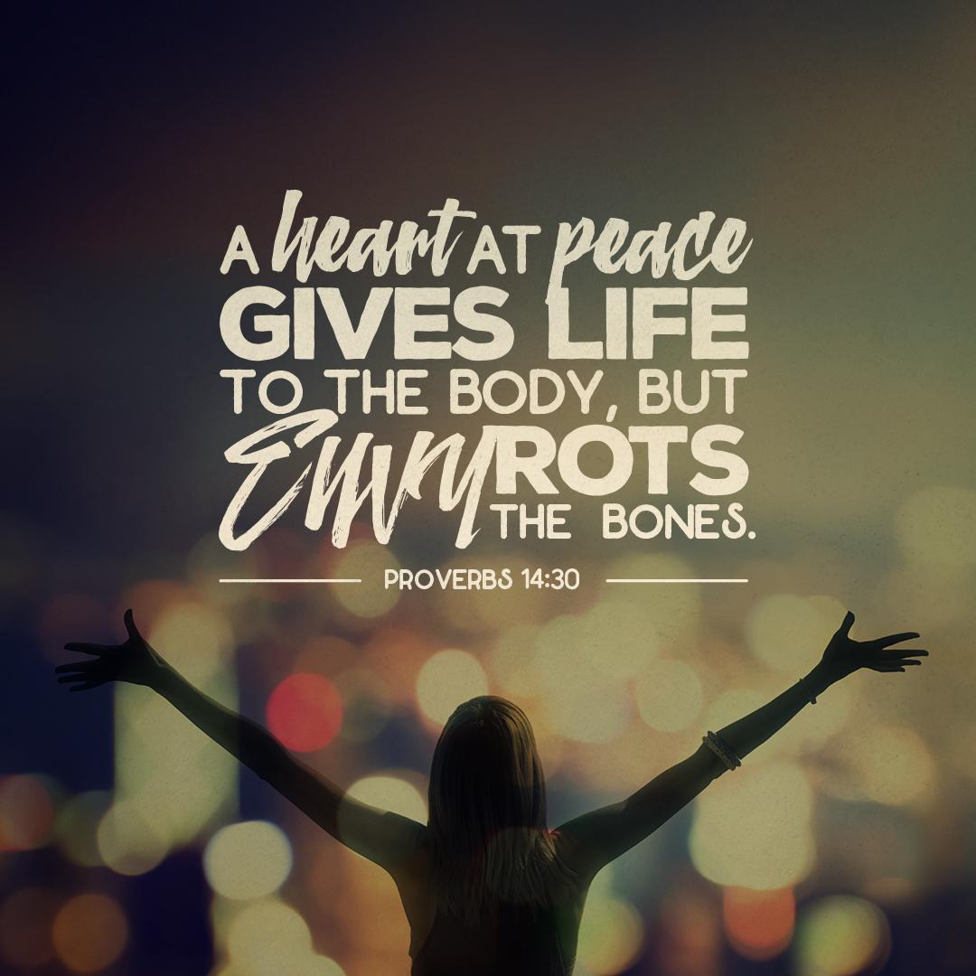Proverbs 14:30 SOCIAL