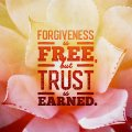 Forgiveness is Free SOCIAL