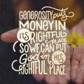 Generosity SOCIAL