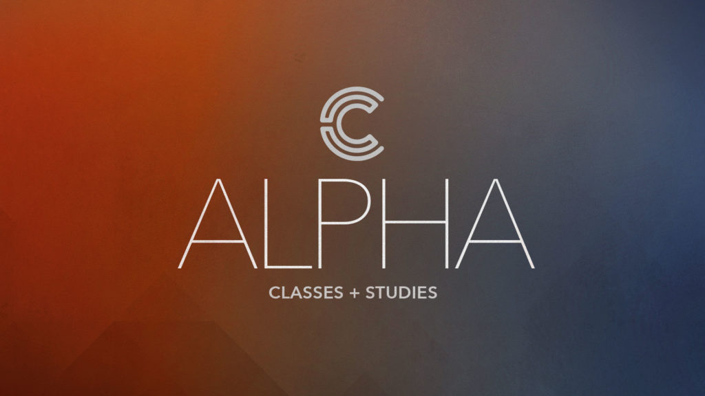 Classes & Studies: Alpha