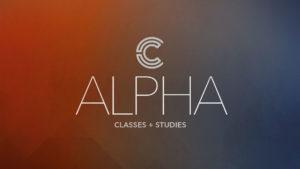 Classes & Studies: Alpha